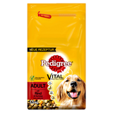 Shop Pedigree Adult Dog Food Dry Beef & Vegetables 1.5kg at great prices on discandooo.com
