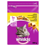Shop Whiskas Cat Food Dry With Chicken 1+ 800g at great prices on discandooo.com