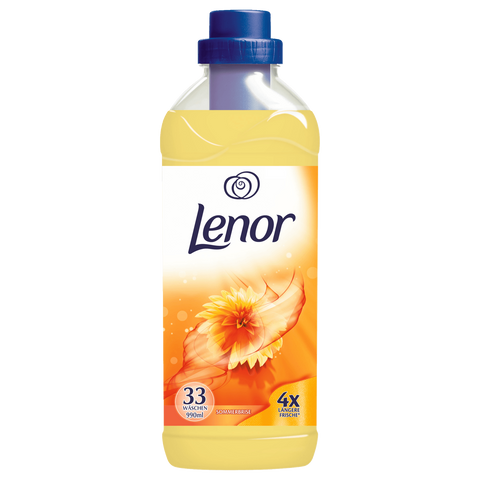 Shop Lenor Softener Summer Breeze (33 WL) 990ml at great prices on discandooo.com