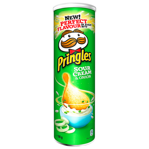Pringles Chips Sour Cream & Onion 190g