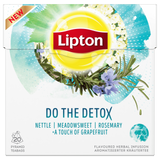 Shop 2x Lipton Herbal Tea Do The Detox Pyramid Bag 20 Bags at great prices on discandooo.com