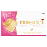 Shop 2x Merci White Chocolate Raspberry (Limited Edition) 100g at great prices on discandooo.com
