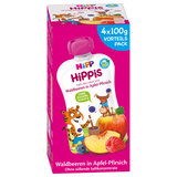 Shop Hipp Hippis Smoothies Wild Berries In Apple-Pear 4 x 100g at great prices on discandooo.com