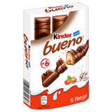 Shop 2x Kinder Bueno 6 Piece(s) at great prices on discandooo.com