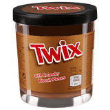 Shop Twix Choco-Caramel Spread with Crunchie Biscuit Pieces 200g at great prices on discandooo.com