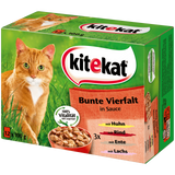 Shop Kitekat Cat Food Wet Colorful Variety In Sauce 12 x 100g at great prices on discandooo.com