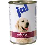 Shop 6x Ja! Dog Food Wet With Heart 400g at great prices on discandooo.com