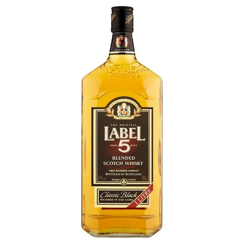 Label 5 Whisky 40% 1L