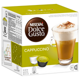 Shop Nescafé Dolce Gusto Cappuccino Coffee Capsules 16 Piece(s) at great prices on discandooo.com