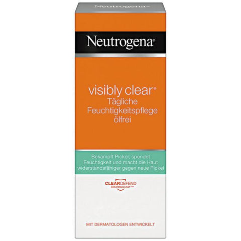 Shop Neutrogena Visibly Clear Oil-Free Day Care 50ml at great prices on discandooo.com