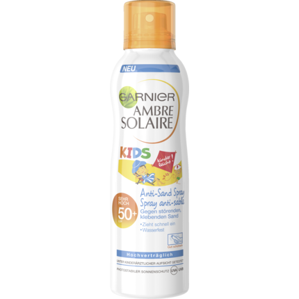 Shop Garnier Sun Spray Kids Anti Sand Spf 50+ 200ml at great prices on discandooo.com