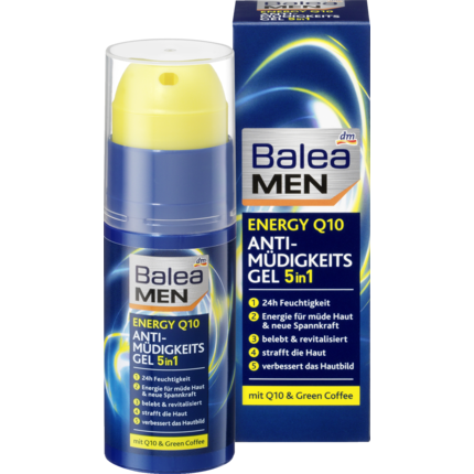 Shop Balea Men Day Care Energy Q10 Anti Fatigue Gel 50ml at great prices on discandooo.com