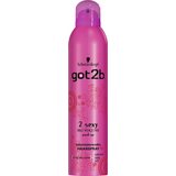 Shop 2x Schwarzkopf Got2B Hairspray 2 Sexy Big Volume Push Up 300ml at great prices on discandooo.com