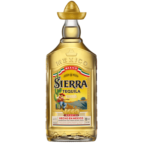 Shop Sierra Tequila Gold Reposado 38% 1L at great prices on discandooo.com