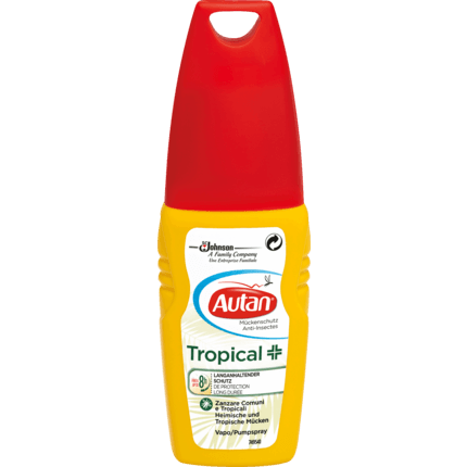 Shop Autan Insect Repellent Spray Tropical 100ml at great prices on discandooo.com