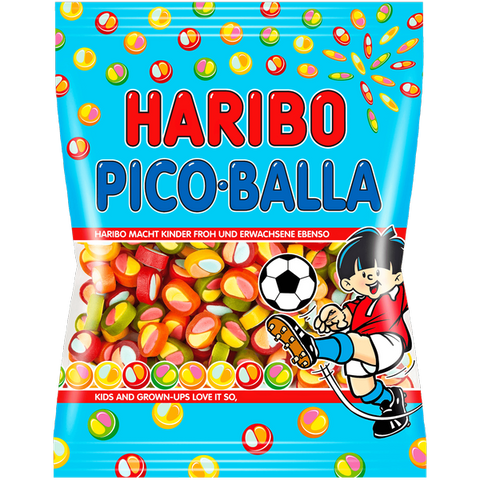 Shop 3x Haribo Wine Gums Pico Balla 175g at great prices on discandooo.com
