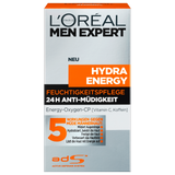 Shop L'Oréal Paris Men Expert Hydra Energetic Cooling Gel 50ml at great prices on discandooo.com