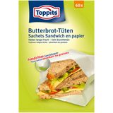 Shop Toppits Greaseproof Paper Bags 60 Piece(s) at great prices on discandooo.com
