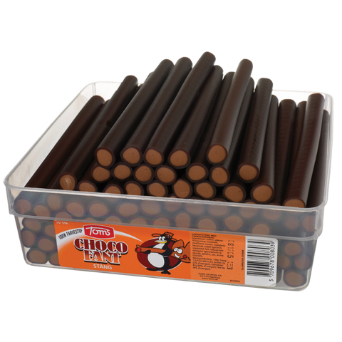 Pingvin Chocofant Stang Chocolate Liquorice Sticks 1.25kg