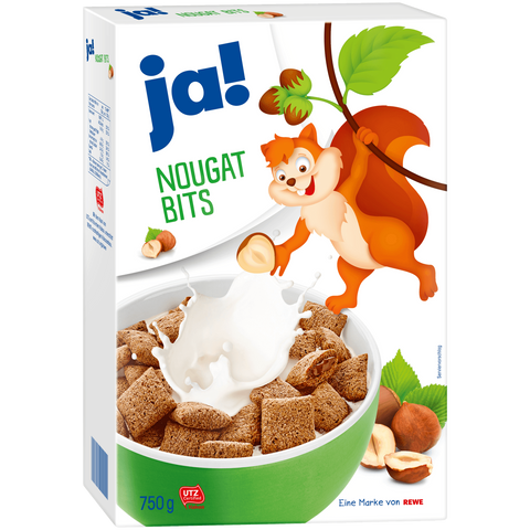 Shop Ja! Cereals Nougat-Bits 750g at great prices on discandooo.com