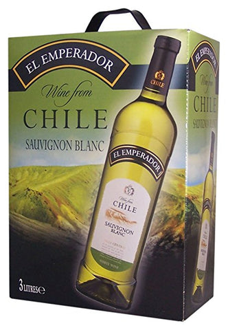 "El Emperador Sauvignon Chile White Wine 13% ""Bag in Box"" 3L"