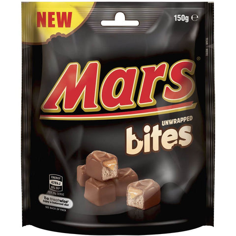 Shop 2x Mars Chocolate Bites 150g at great prices on discandooo.com