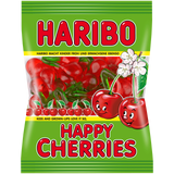Shop 3x Haribo Wine Gums Happy Cherries 200g at great prices on discandooo.com