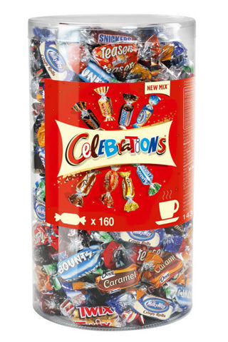 Mars Celebrations Mini Chocolate Bars 1.435kg