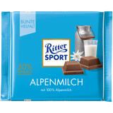 Ritter Sport Chocolate Alpine Milk 100g