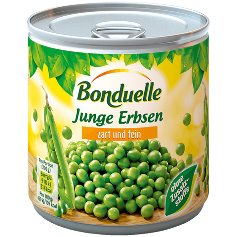Shop 3x Bonduelle Young Peas Tender & Fine 280g at great prices on discandooo.com