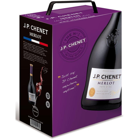 "Shop J.P. Chenet Merlot Red Wine Dry 13% ""Bag In Box"" 3L at great prices on discandooo.com"