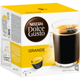 Shop Nescafé Dolce Gusto Grande Coffee Capsules 16 Piece(s) at great prices on discandooo.com