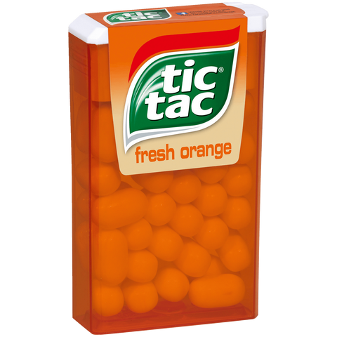 Shop 3x Tic Tac Dragees Fresh Orange 100 Box 49g at great prices on discandooo.com