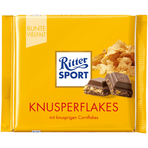 Ritter Sport Crispy Flakes Chocolate 100g