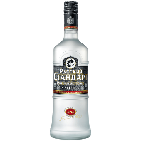 Shop Russian Standard Vodka 40% 1L at great prices on discandooo.com