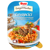 Shop 2x Buss Cevapcici With Vegetables & Rice 300g at great prices on discandooo.com