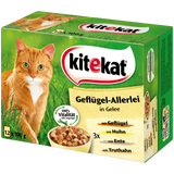 Shop Kitekat Cat Food Poultry in Jelly 12 x 100g at great prices on discandooo.com