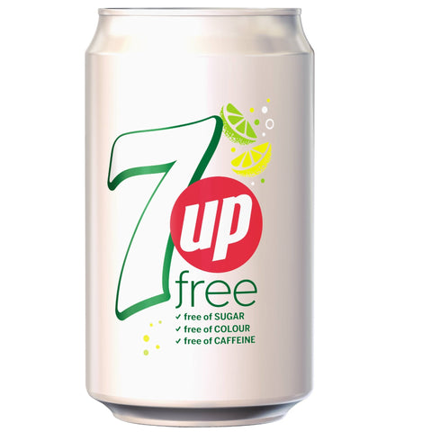 Seven Up Lemonade Free 24 x 330ml