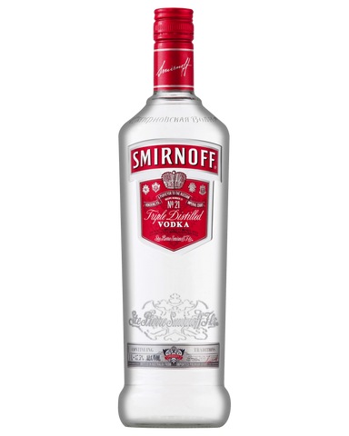 Smirnoff Vodka Red Label 37.5% 1L