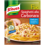 Shop 4x Knorr Fix Spaghetti Alla Carbonara 38g at great prices on discandooo.com