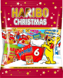 Haribo Wine Gums Christmas Mini Mix 250g