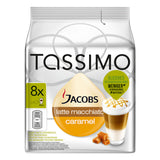 Shop Jacobs Tassimo Latte Macchiato Caramel Coffee Capsules 8 Piece(s) at great prices on discandooo.com