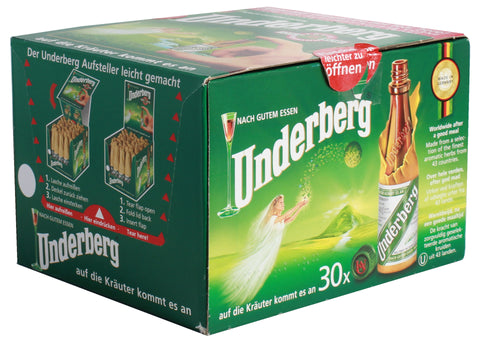 Underberg Herbal Bitters 44% 30 x 20ml