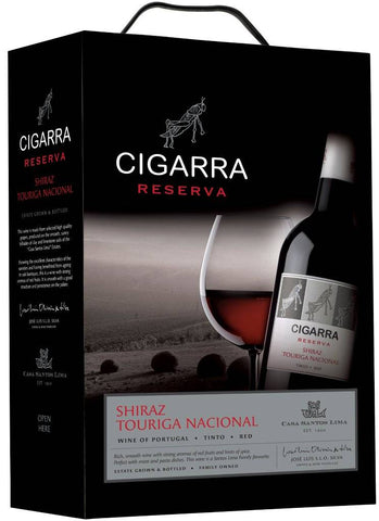 "Cigarra Reserva Shiraz Touriga Nacional  13 %   ""Bag in Box"" 3L"