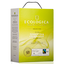 "Ecologica Torrontes & Chardonnay 12,5%, Fairtrade   ""Bag in Box"" 3L"