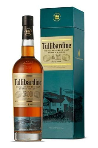 Tullibardine 500 Sherry Finish 43%  0.7L