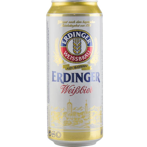 Erdinger Wheat Original Beer 5.3% 24 x 500ml