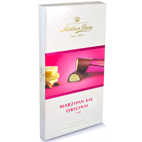 Shop Anthon Berg Marzipan Bars 7 x 40g at great prices on discandooo.com