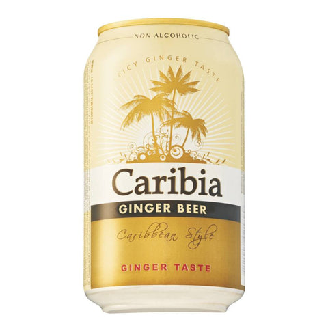 Harboe Caribia Ginger Beer Alcohol-Free 24 x 330ml