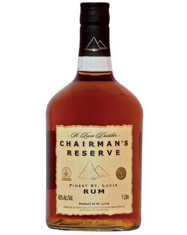 Chairman's Reserve Finest Rum 40%  - Rom fra St. Lucia 0.7L